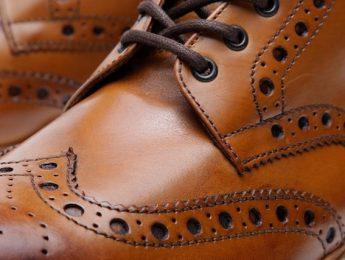 cuero - calzado - zapato calzado caballero